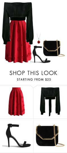 """""""Sem título #3095"""" by mprocedi on Polyvore featuring moda, Chicwish, Yves Saint Laurent, Forever 21, STELLA McCARTNEY e Bling Jewelry"""