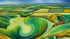 Landscape Paintings and photographs : Oxfordshire Landscapes  Anna Dillon