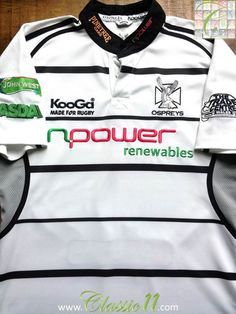 Relive Osprey s 2006 2007 season with this vintage Kooga away player  specification rugby shirt. 4d17f359f