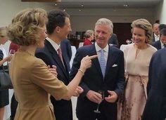 King Philippe and Queen Mathilde attends a meeting in Liechtenstein. 17-9-2015