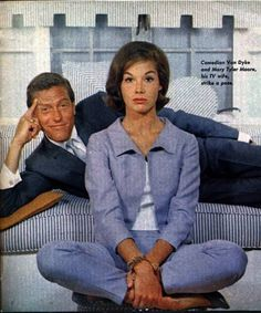 "Dick Van Dyke and Mary Tyler Moore. ""The Dick Van Dyke Show"""