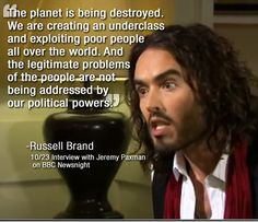 Russell Brand Words of Wisdom
