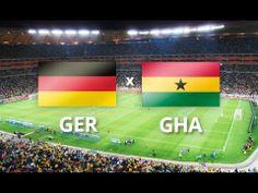 Gol De Empate Da Alemanha vs Gana De Miroslav Klose Copa Do Mundo 2014