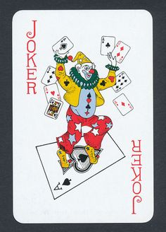 Alcatraz playing card single swap JOKER - 1 card