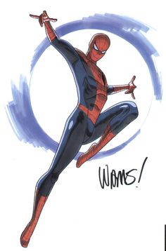 Spider Man by David Williams