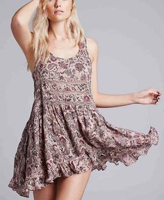 Free People Trapeze Print Dress, Canada