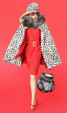 2007 Red Hot Reviews Barbie by fashiondollcollector, via Flickr