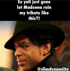Madonnas Prince tribute meme