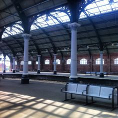 Darlington Railway Station, England