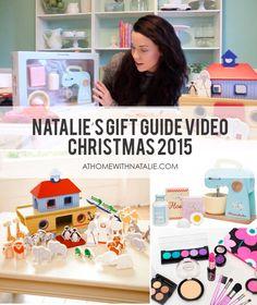 Christmas Gift Guide Video- Gift Ideas - athomewithnatalie.com