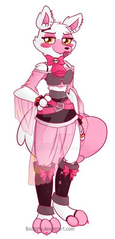 FNaF: (Pirate) Mangle~ by Beckitty on DeviantArt