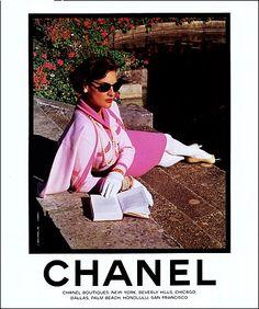 vintage fashion ads +chanel | Fashion Flashback: Vintage Chanel Ads on julepfree's Blog - Buzznet