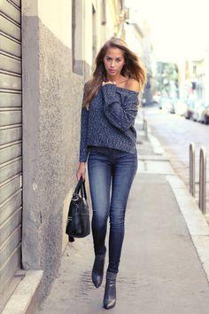 """Mode-Bloggerin Kenza Zouiten gehört zu den bekanntesten Bloggern Schwedens. Deshalb wurde sie jetzt sogar für die """"Denim Diaries""""-Kampagne von Guess"""