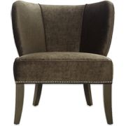 having a sister who works at a furniture store is awesome/expensive! This is a version of my new chair