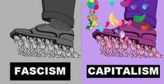 Fascismo?, capitalismo?, diferencias.. pic.twitter.com/Gu9SxSd0Vi