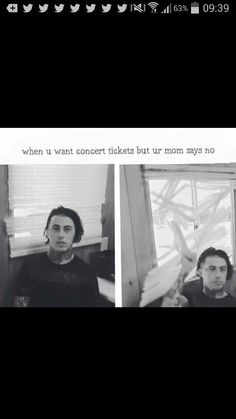 This was legit me last year when i almost got P!ATD tickets
