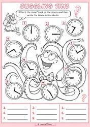time and daily routine