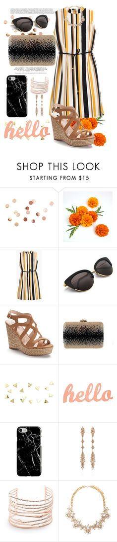 """""""summer outfit"""" by aletraghetti on Polyvore featuring moda, Umbra, Chico's, Jennifer Lopez, Leiber, Recover, Fernando Jorge, Alexis Bittar y Forever 21"""