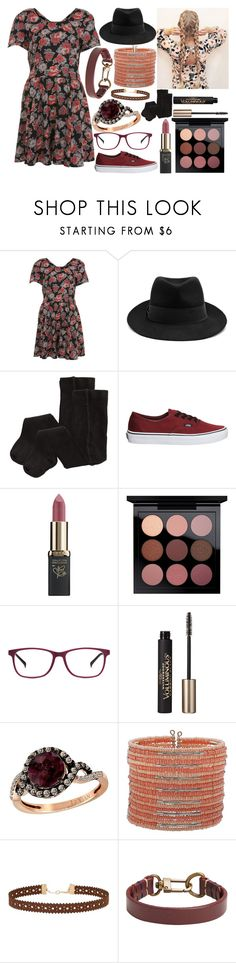 """""""Untitled #1612"""" by believe-dream-inspire ❤ liked on Polyvore featuring Miss Selfridge, STELLA McCARTNEY, H&M, Vans, L'Oréal Paris, MAC Cosmetics, Revel, Anrealage, LE VIAN and Mixit"""