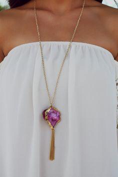 Super Nova Girl Necklace