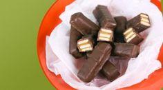 Chocolate Caramel Crunch Bars by Michael Symon