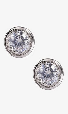Some Express sparkle.... Love studs for when my hair is up. I may invest in these ones actually depending on the size