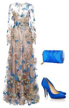 Lovely Dresses, Elegant Dresses, Look Fashion, Womens Fashion, Fashion Design, Classy Fashion, Blue Fashion, Dress Outfits, Fashion Dresses