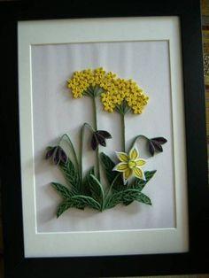 Flower Arrangement - Quilled Creations Quilling Gallery