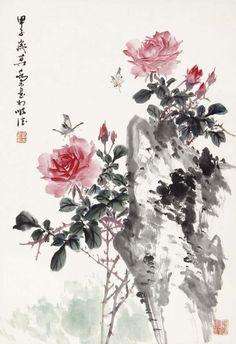 #MasterQiaoMu #ChineseInkPainting #WaterColor #AsianBrushPainter #OrientalBrushPainting #Sumie