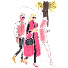 Fashion Drawing The illustrator Damien Florébert Cuypers draws the faces of the fashion set in the City of Light. Sketchbook Drawings, Drawing Sketches, Art Drawings, Illustration Mode, Fashion Illustration Sketches, Paris Painting, Face Sketch, Crayon Art, Oui Oui