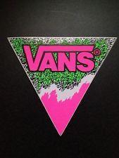Vans Vintage Sticker