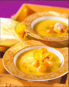 Unser beliebtes Rezept für Kartoffel-Safran-Suppe und mehr als 55.000 weitere kostenlose Rezepte auf LECKER.de.