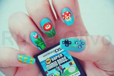 Super Mario Bros. nails.