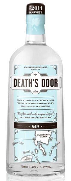 Death's Door Gin | met jeneverbes en korianderzaad / J. Gasco Indian Tonic — bij Il Sorriso della Nonna