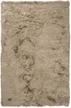 Surya Candice Olson Design Whisper Shag Hand Woven Polyester Rugs - Gray