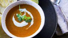 Soupe indienne de lentilles rouges - Recettes - À la di Stasio