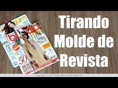 Tirar Molde de Revistas - MUITO FÁCIL | Karina Belarmino - YouTube