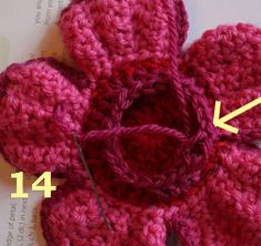Crocheted Rafflesia Flower Tutorial