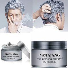 Ash Grey Hair Dye, Grey Hair Wax, Grey Hair Roots, Silver Grey Hair, Short Grey Hair, Older Mens Hairstyles, Cute Hairstyles For Medium Hair, Man Haircuts, Gray Hairstyles