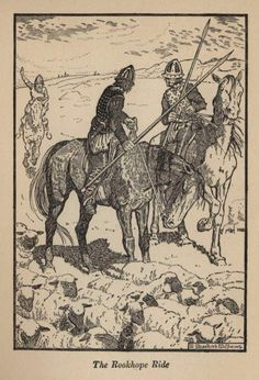 The Rookhope Ride (Raid by English Reivers) is a ballad rescued and noted down by Joseph Ritson from the chanting of George Collingwood of Boltsburn near Rookhope about 1785. The date of the action (a raid) is precise: 6 December [1569?], when robbers from Tynedale made a foray into Weardale.
