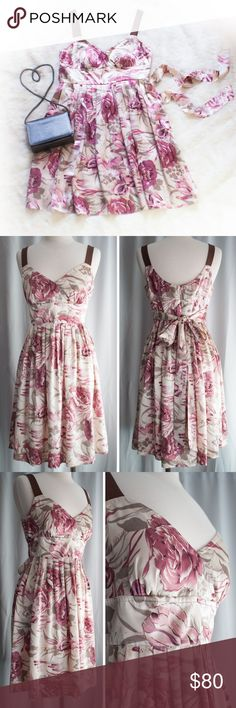 Anthropologie Plenty Frock by Tracy Reese Dress Stop and smell the roses with this romantic Antique Rose Silk dress made by Plenty Frock by Tracy Reese for Anthropologie.  Beautiful dusty pink color.  Size 10.  Pre-loved and in excellent condition.  Thanks for looking! Plenty by Tracy Reese Dresses