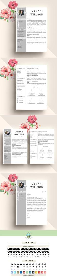 Modern Resume Template Resume Templates Pinterest Shops - resume site