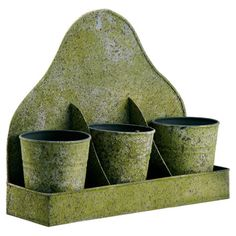 4 Piece Audrey Pot & Tray Set