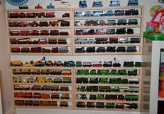 organize Thomas Trains