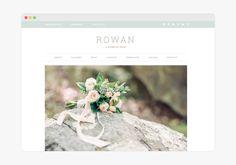 Rowan - Wordpress Theme élégant et idéal pour les photographes - by 17th Avenue Designs on Creative Market