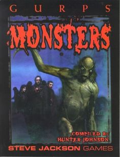 GURPS Monsters. I don't own GURPS anymore, but this is great book full of different kinds of monsters.