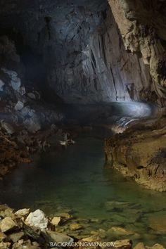 Enter Borneo's Caves - Niah - Mulu - Clearwater - Backpackingman