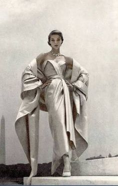 Image result for vintage dior green dress