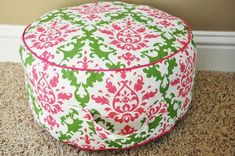 ADVANCED Tutorial: Floor Cushion Could be donated to children's homes, Daycare centers, preschool classrooms, church nurseries, the list is endless.