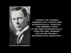 Charles Lindbergh Federal Reserve Quotes. QuotesGram by @quotesgram